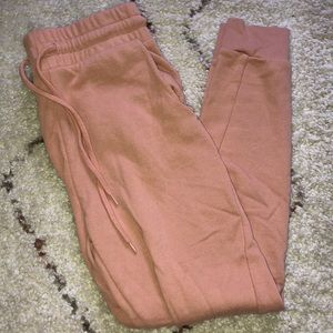 Forever 21 Peach Joggers